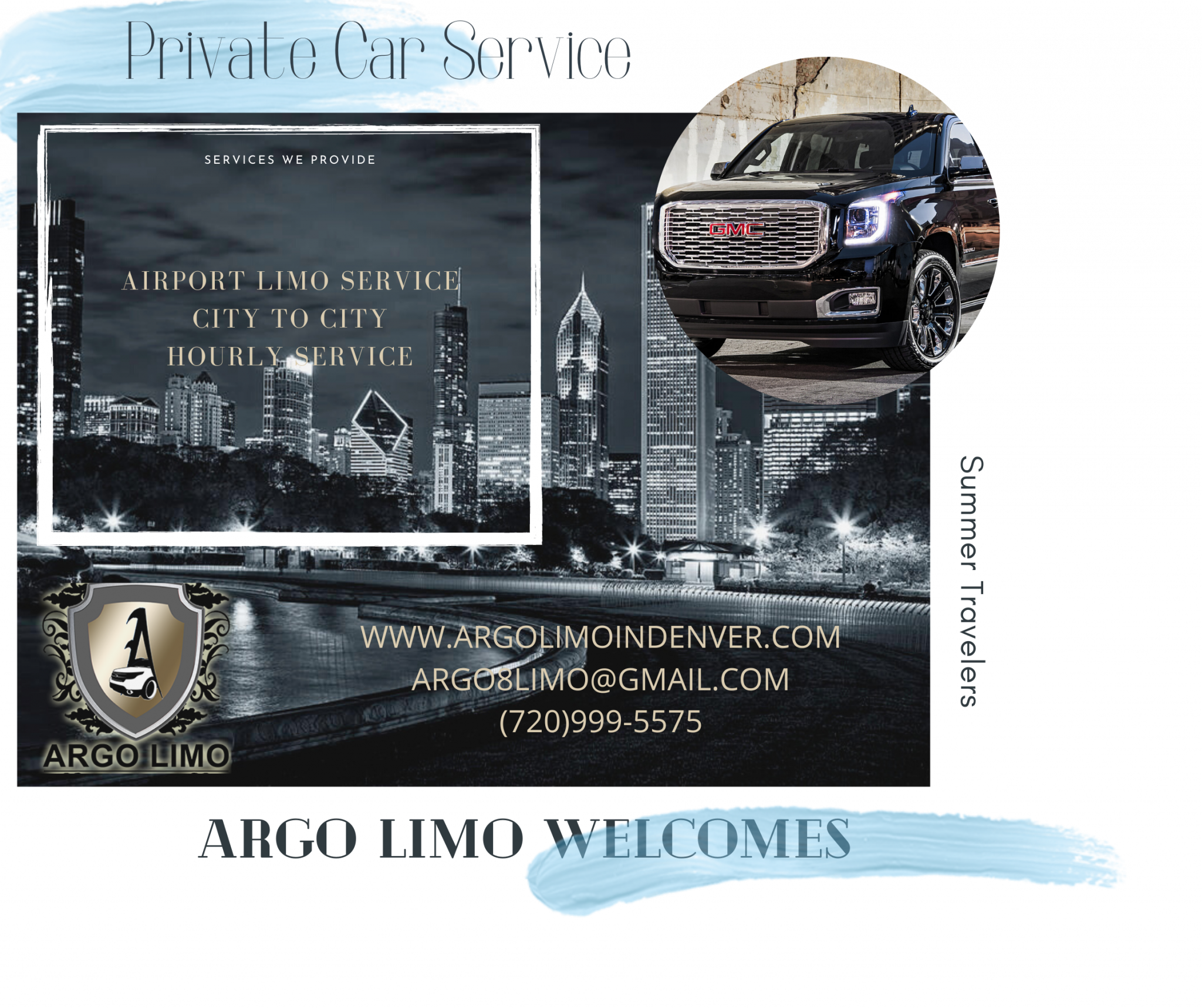 Private car service to denver airport